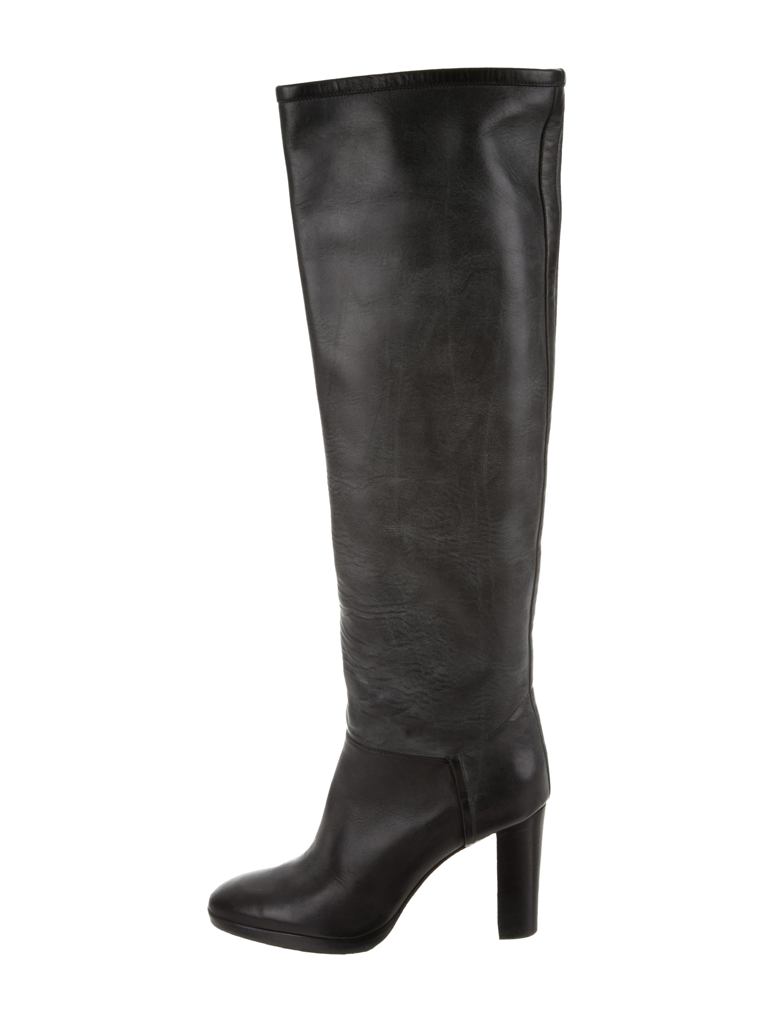Loro Piana Leather Over-The-Knee Boots clearance genuine official online discount professional outlet new free shipping under $60 hnDoeJ
