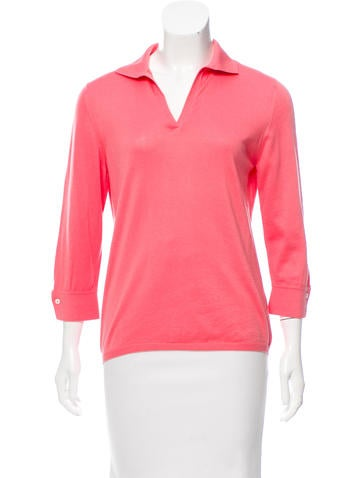 Loro Piana Three-Quarter Sleeve Knit Top None