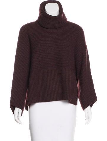 Loro Piana Cashmere Rib Knit Sweater None