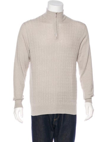 Loro Piana Baby Cashmere-Blend Sweater w/ Tags None