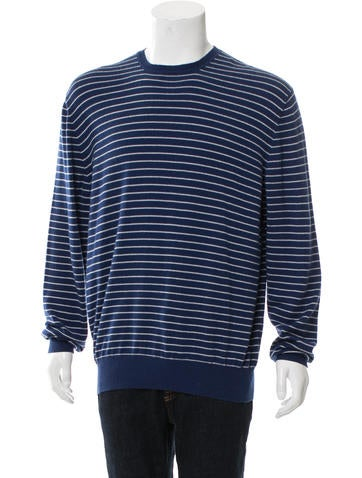Loro Piana Cashmere Striped Sweater w/ Tags None