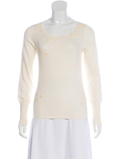 Loro Piana Embroidered Cashmere Sweater