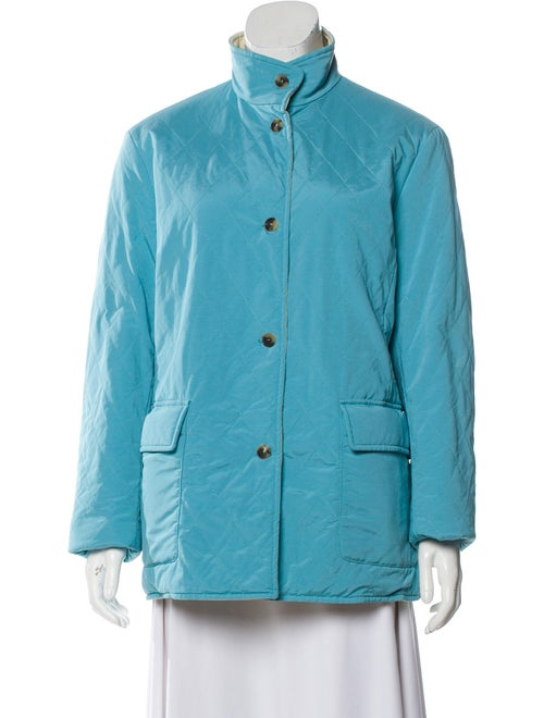 Loro Piana Quilted Reversable Jacket Blue