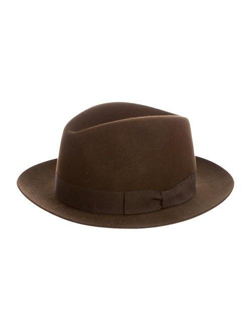 Loro Piana Cashfelt Fedora Hat brown