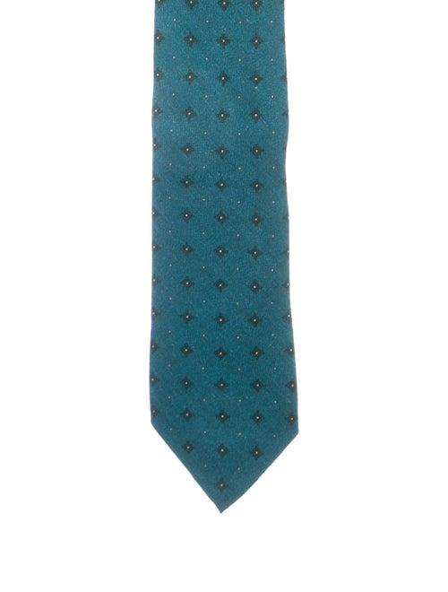 Loro Piana Cashmere & Silk-Blend Tie w/ Tags blue