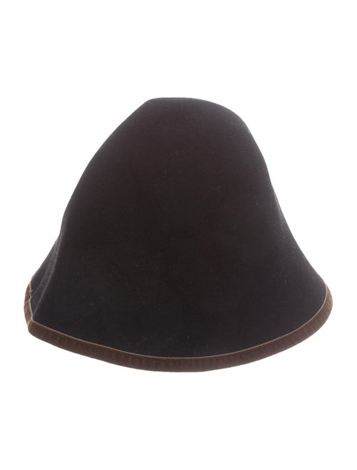 Loro Piana Felt Bucket Hat Black