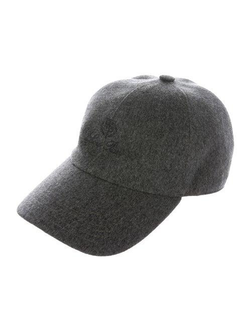 Loro Piana Cashmere Baseball Cap grey