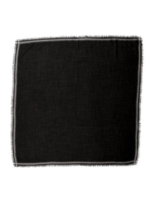 Loro Piana Cashmere-Silk Blend Scarf Black