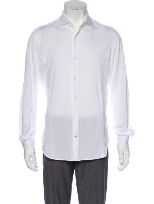 Loro Piana Long Sleeve Shirt White