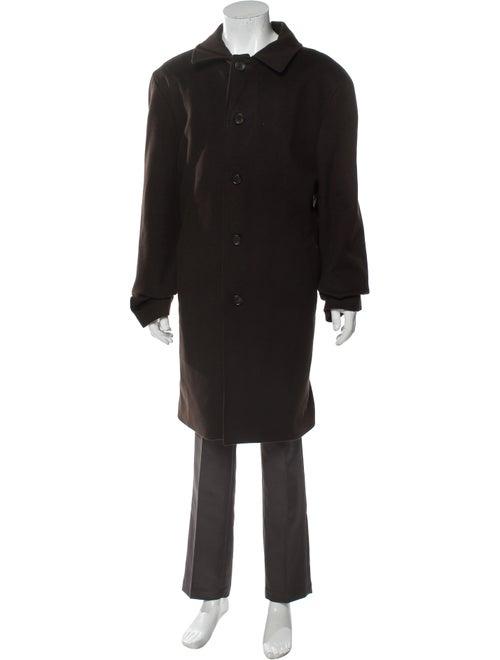 Loro Piana Wool Overcoat Wool