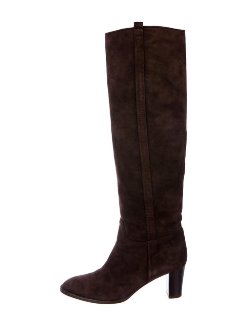 Loro Piana Suede Boots Brown