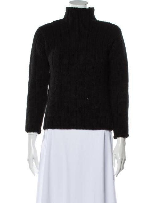 Loro Piana Cashmere Turtleneck Sweater Black