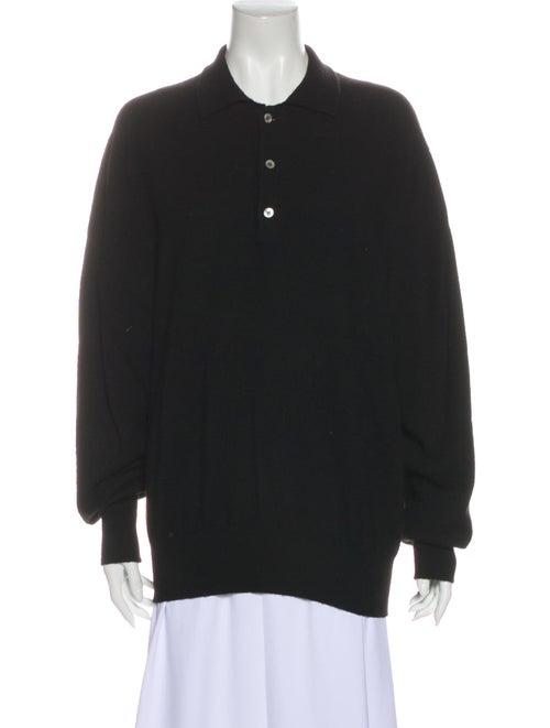 Loro Piana Cashmere Sweater Black