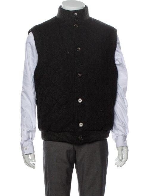 Loro Piana Cashmere Vest Grey