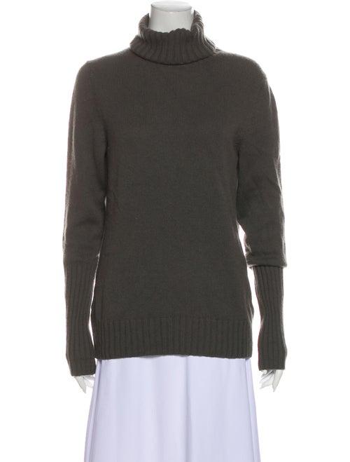 Loro Piana Cashmere Turtleneck Sweater Grey