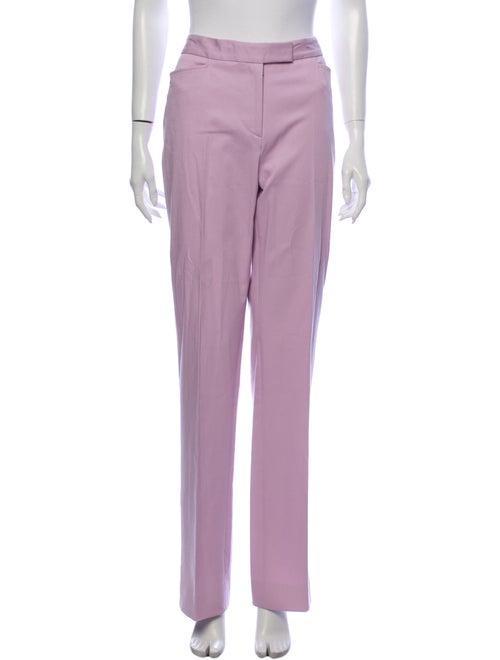 Loro Piana Straight Leg Pants Pink