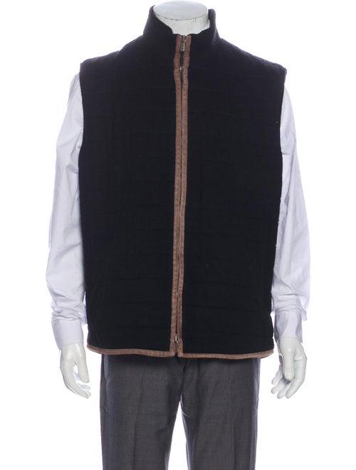 Loro Piana Cashmere Vest Black