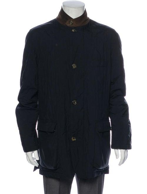 Loro Piana Coat Blue
