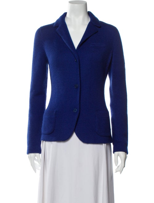Loro Piana Cashmere Blazer Blue