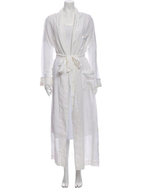 Loro Piana Linen Robe White