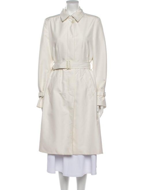 Loro Piana Trench Coat White