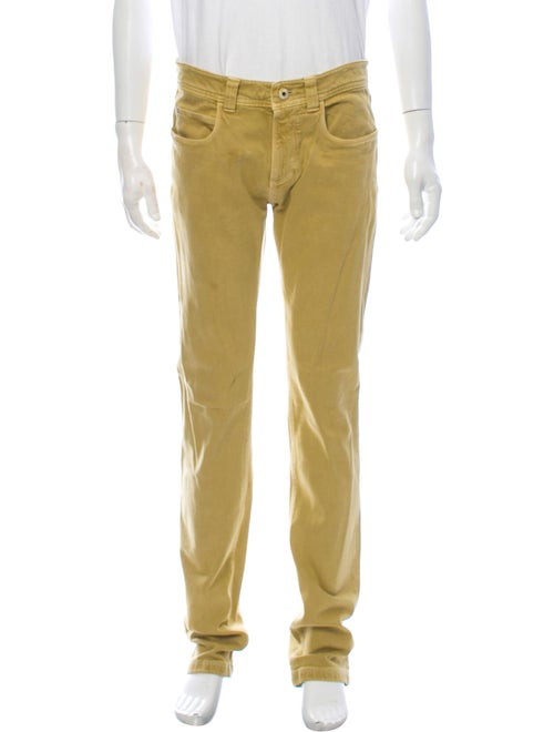 Loro Piana Skinny Jeans Yellow