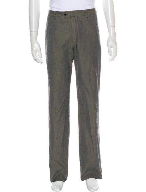 Loro Piana Tweed Pattern Pants Grey
