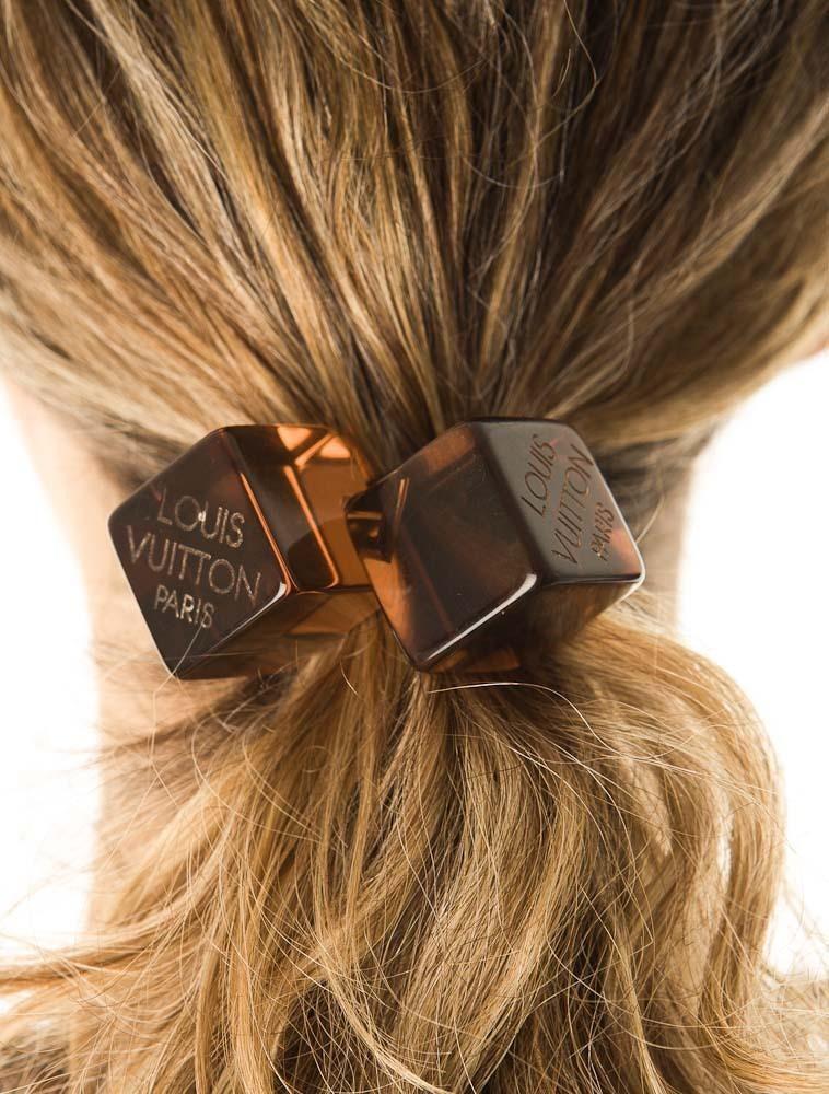 Louis Vuitton Cube Hair Tie - LOU01341  f4cb2efd6b5