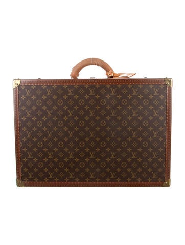 louis vuitton monogram alzer 60 luggage lou100147 the realreal. Black Bedroom Furniture Sets. Home Design Ideas