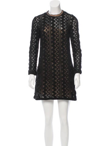 Louis Vuitton Silk Knit Dress None