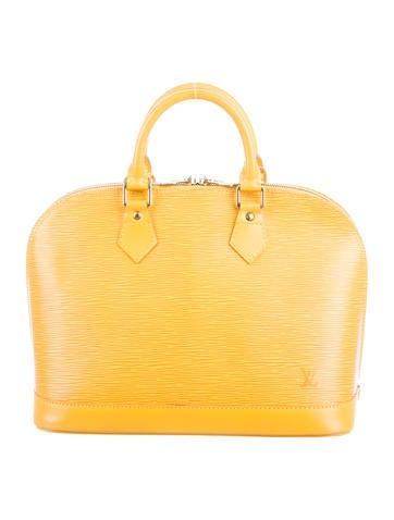 Louis Vuitton Epi Alma MM