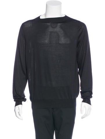 Louis Vuitton Silk Crew Neck Sweater None