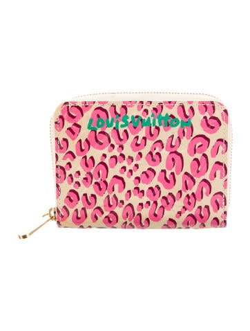 Louis Vuitton Leopard Vernis Zippy Wallet