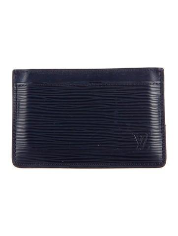 Louis Vuitton Epi Cardholder None