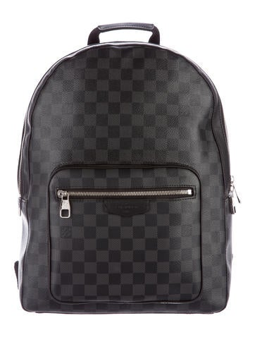 Louis Vuitton 2016 Damier Graphite Josh Backpack