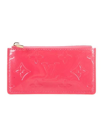 Louis Vuitton Monogram Vernis Key Pouch