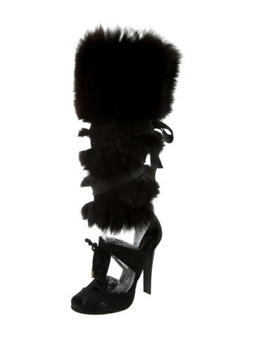Anastasia Fur Sandals