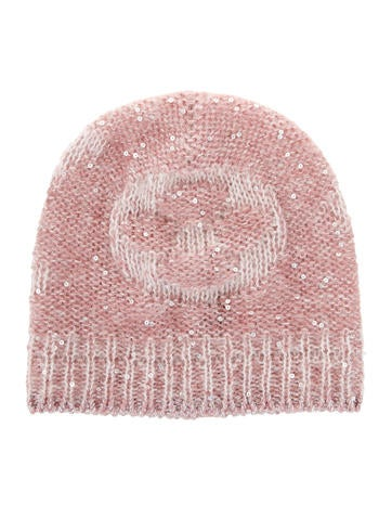 Monogram Glitter Sunset Beanie