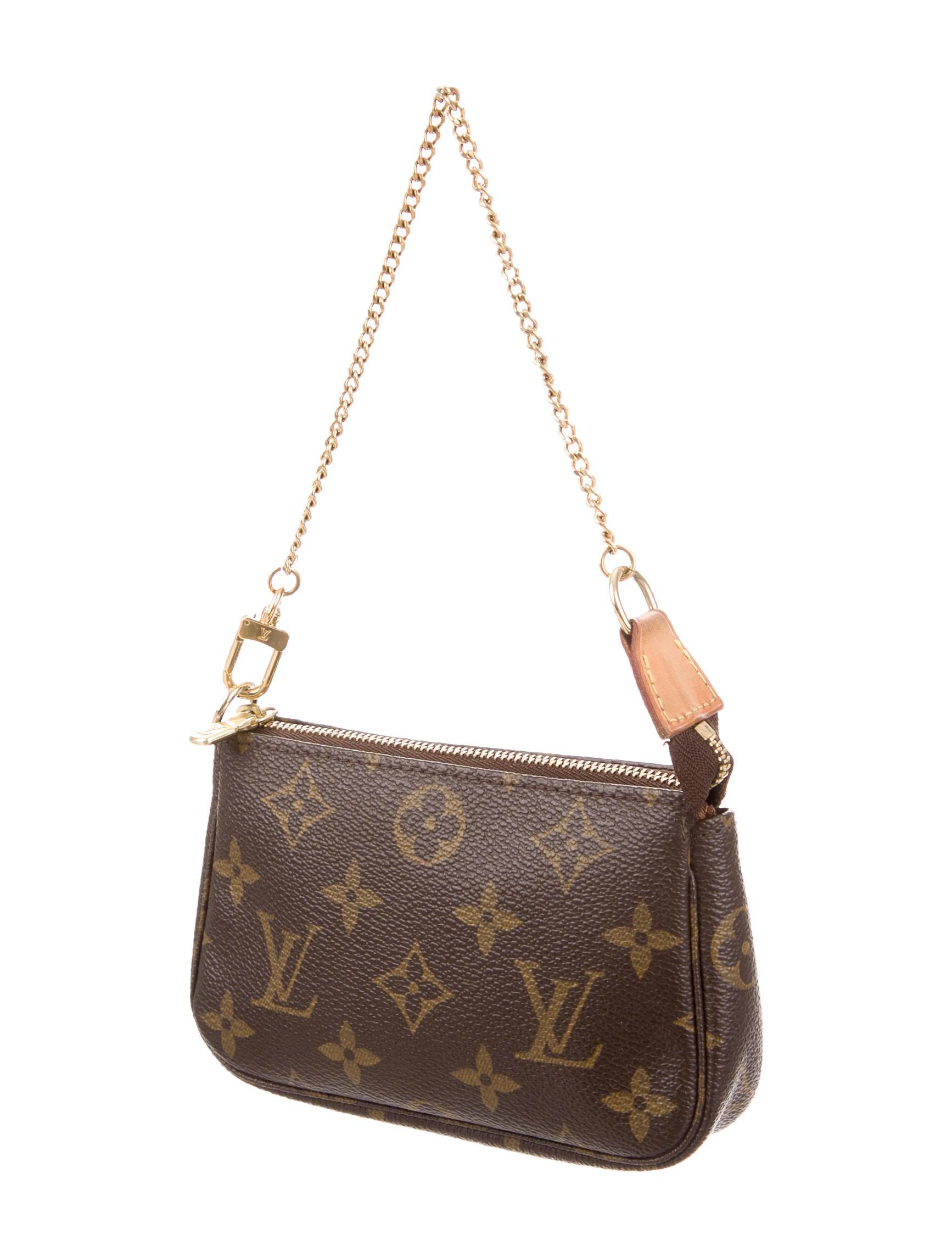 louis vuitton mini pochette accessoires handbags. Black Bedroom Furniture Sets. Home Design Ideas
