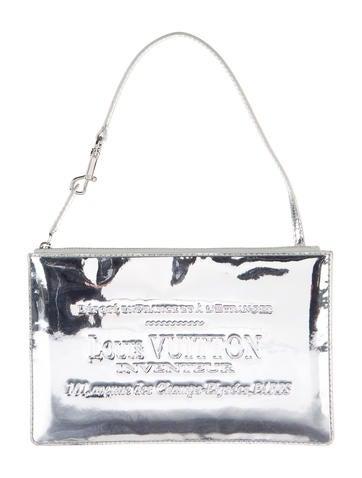 Pochette Miroir Of Louis Vuitton Metallic Miroir Pochette Handbags