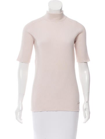 Louis Vuitton Cashmere Rib Knit Sweater None