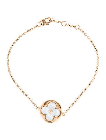 Louis Vuitton 18K Mother of Pearl Blossom Bracelet