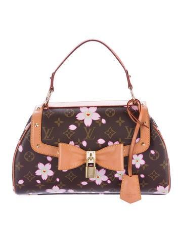 7d69a5857dbb Louis Vuitton Cherry Blossom Sac Retro - Handbags - LOU104117