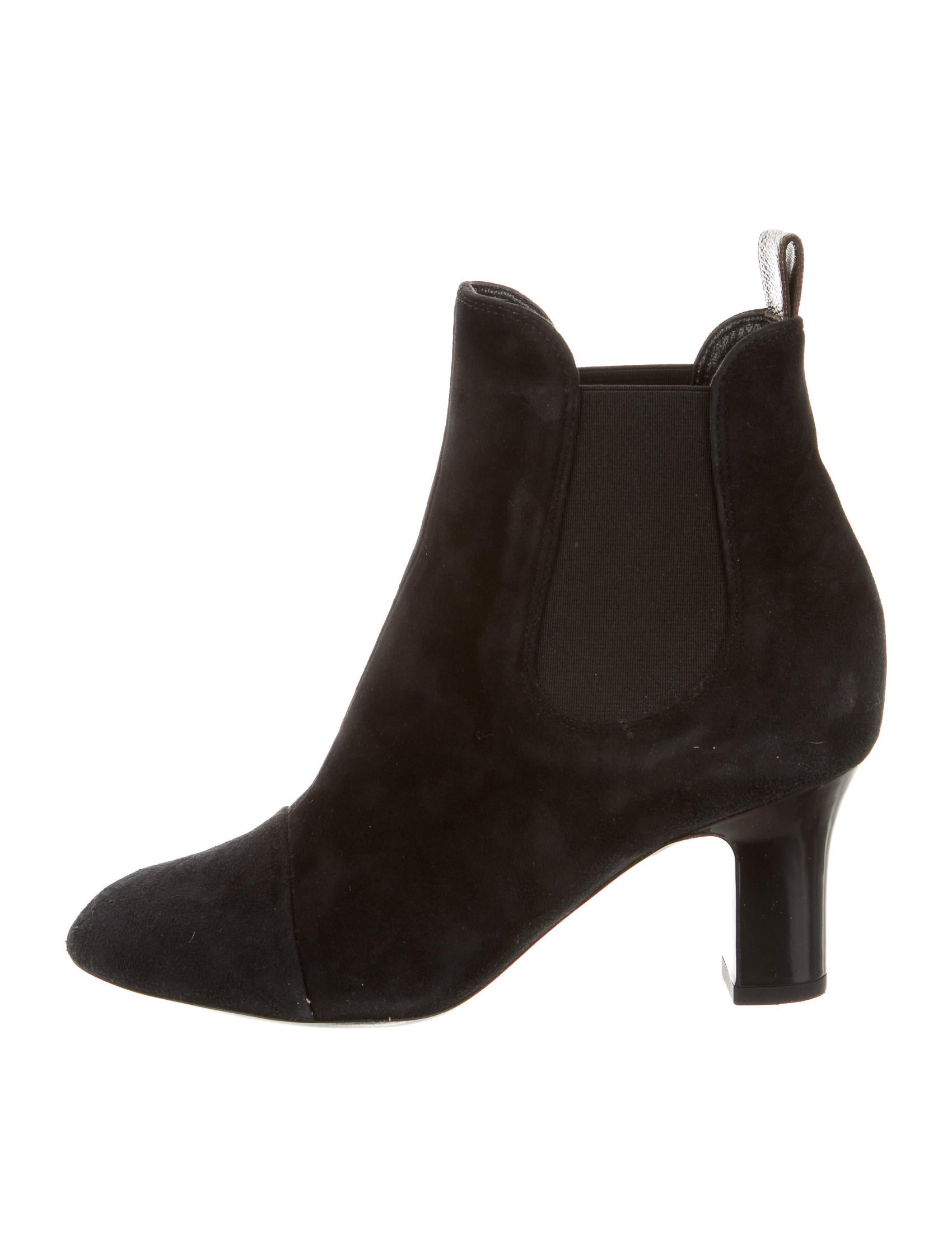 LOUIS VUITTON Suede Ankle Boots NGLcPr2jnl