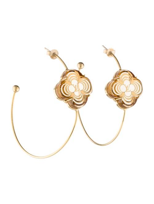 0d681e900 Louis Vuitton A La Folie Hoop Earrings - Earrings - LOU104781   The ...