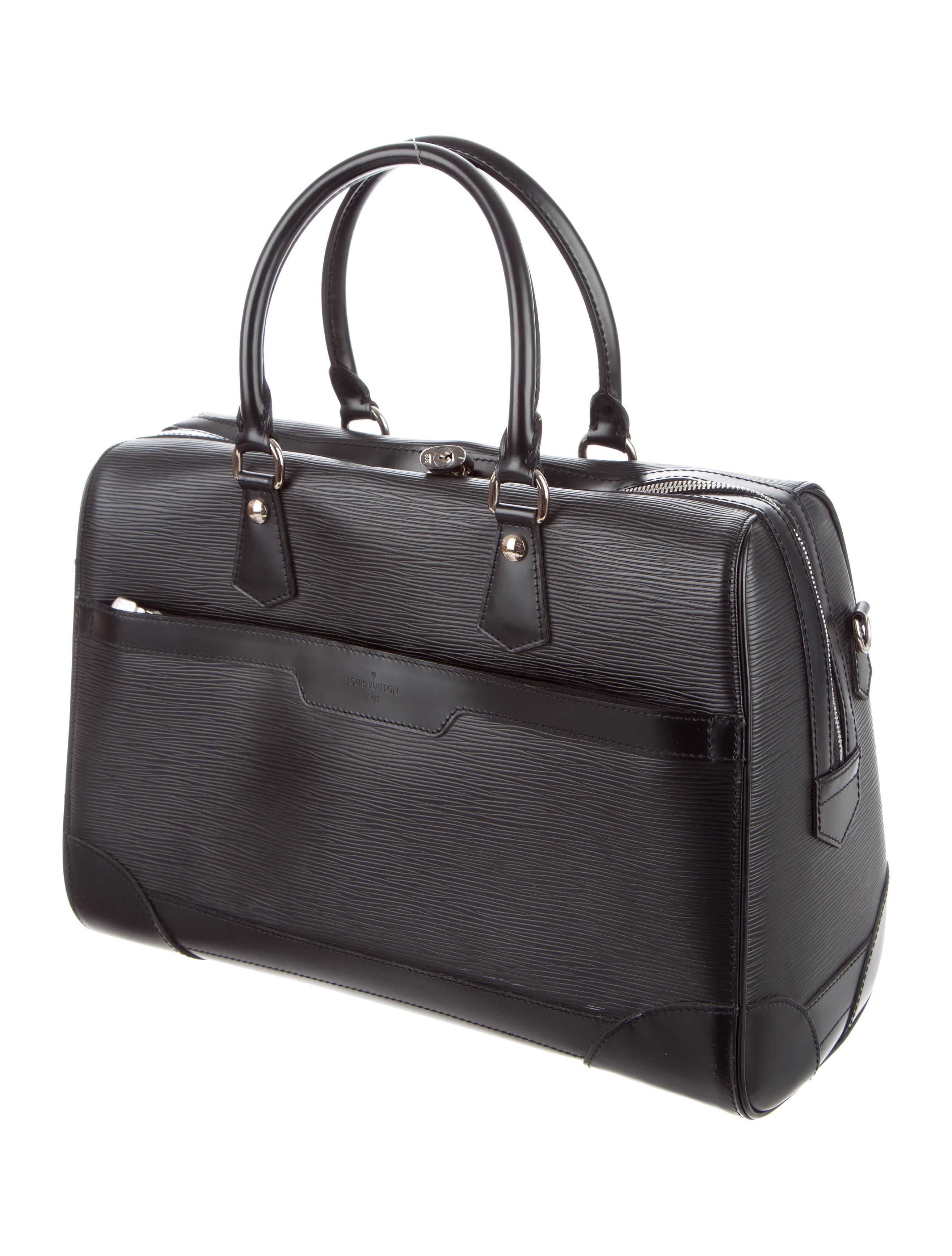 louis vuitton epi sac de voyage bourget handbags. Black Bedroom Furniture Sets. Home Design Ideas
