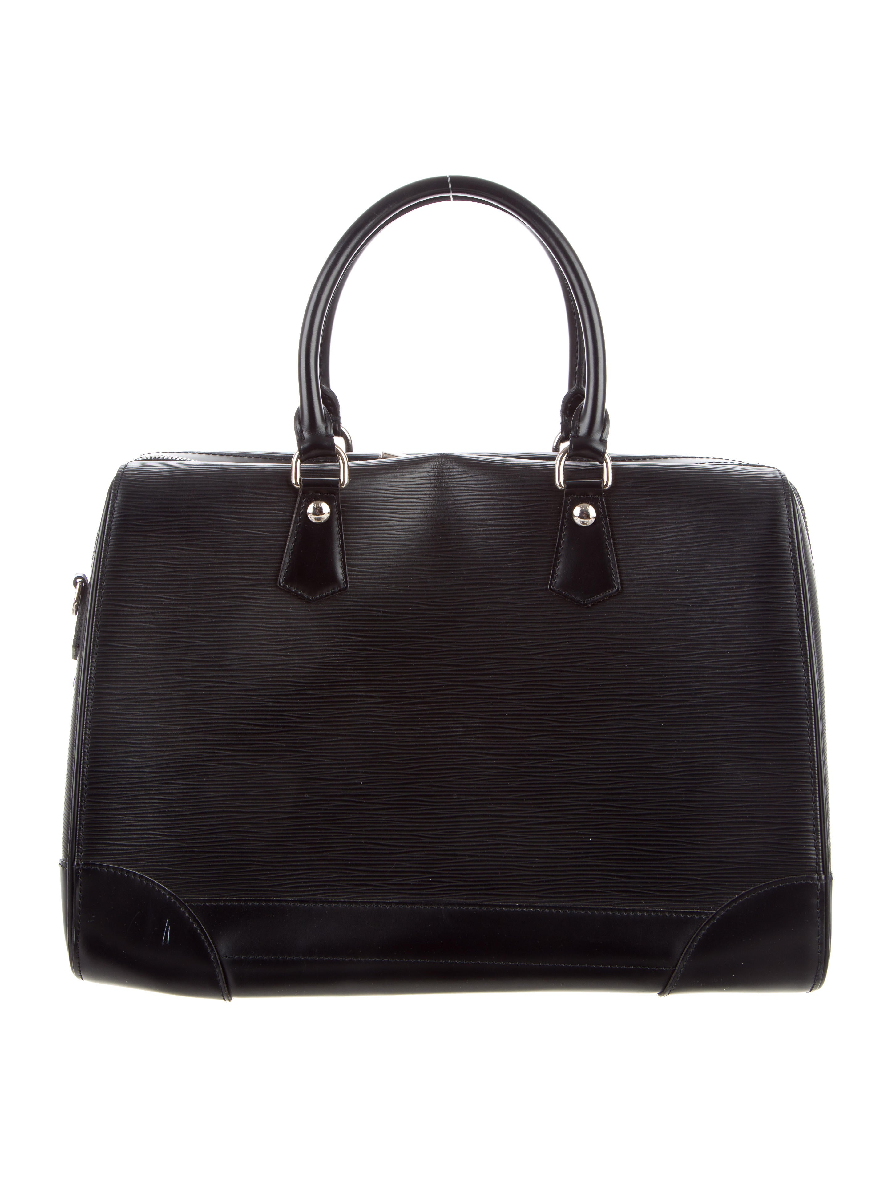louis vuitton epi sac de voyage bourget handbags lou104823 the realreal. Black Bedroom Furniture Sets. Home Design Ideas