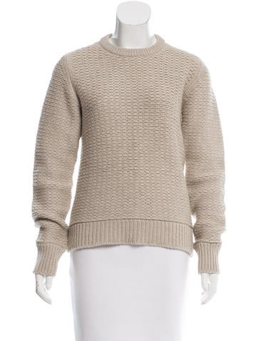 Louis Vuitton Wool & Cashmere-Blend Sweater None