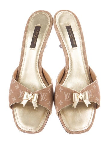 Monogram Slide Sandals