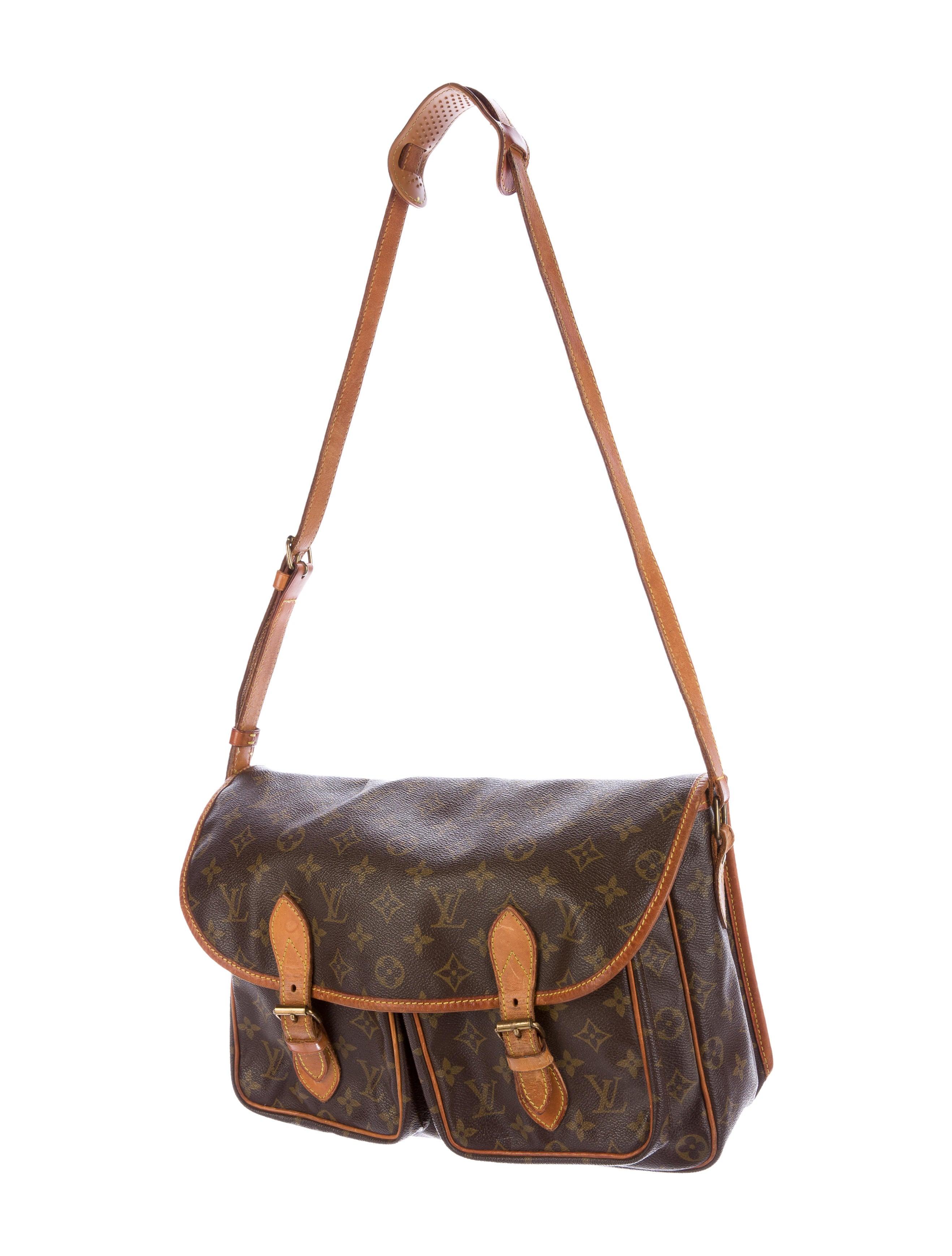 Sac Louis Vuitton Matelassé : Louis vuitton monogram sac gibeciere mm bags lou